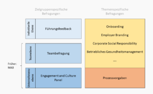 Strukturierung der Survey Landscape